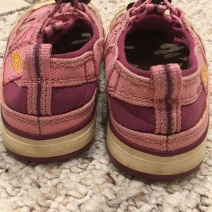 Keen Shoes - Pink Keen sneakers. Well loved. Size 9 toddler.